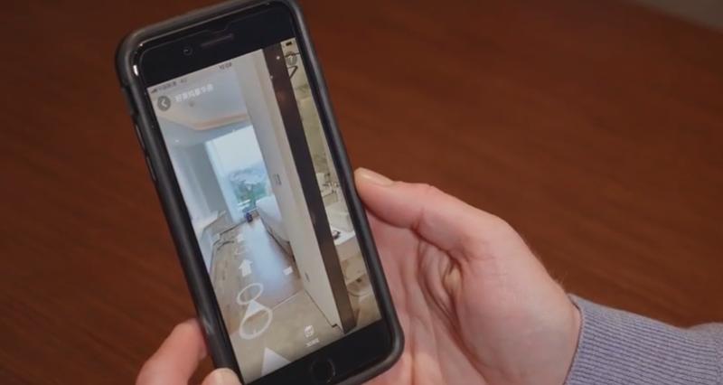 A través de la aplicación FlyZoo, los futuros huéspedes pueden realizar la reserva de la habitación, escogiendo la orientación y las vistas.