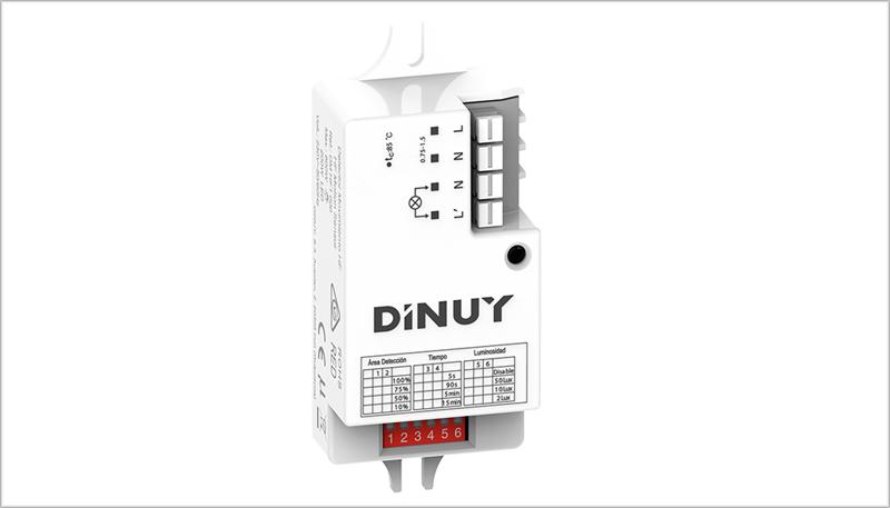 Detector de movimiento de Dinuy.