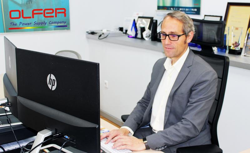 Fernando García, CEO de Olfer.