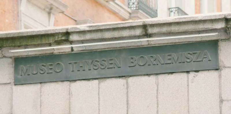 Fachada museo Thyssen.