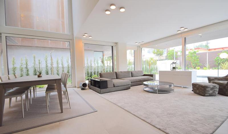 Interior de la vivienda de Perseo Drive.