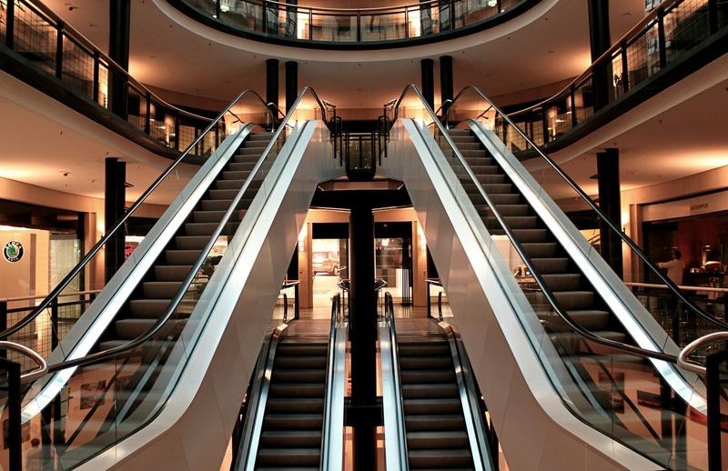Escaleras mecánicas.