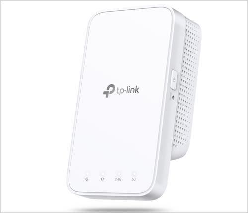 El extensor RE 300 de TP-Link trabaja tanto en la banda 2,4 GHz y 5 GHz, para ofrecer una conexión sin latencias.