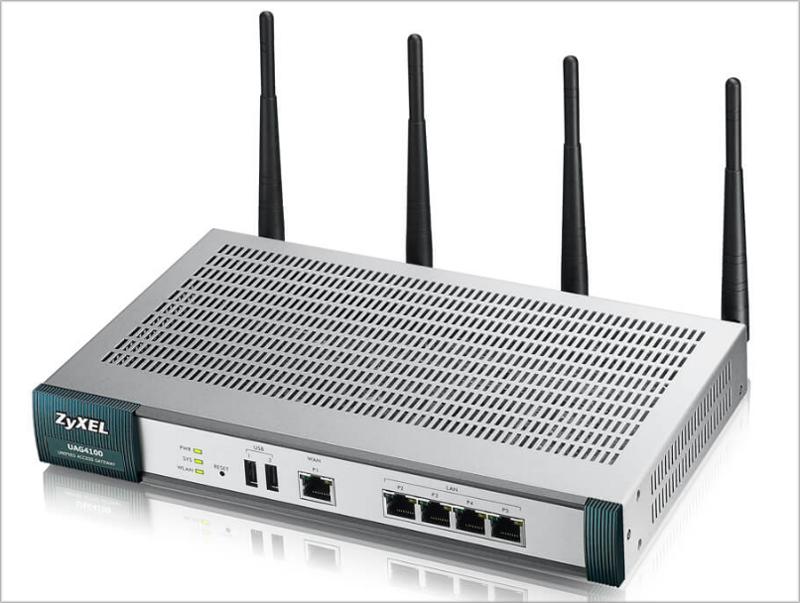 La pasarela de acceso inalámbrica unificada UAG4100 permite gestionar, de manera controlada, todas las conexiones a la red inalámbrica.