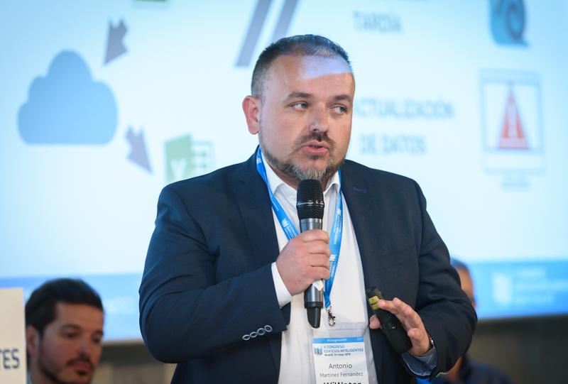 Antonio Martínez, CEO de WiWater.