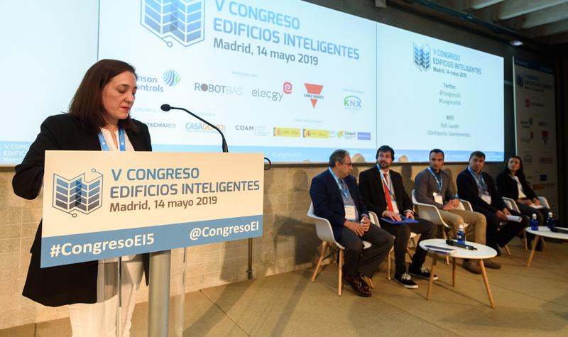 Cecilia Salamanca, responsable del Departamento Técnico de la Asociación de Fabricantes de Equipos de Climatización (AFEC).