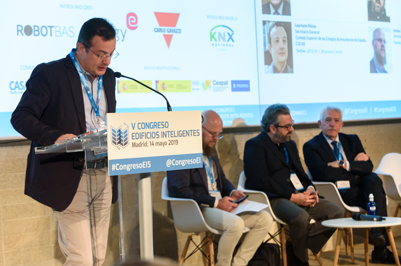 Laureano Matas, Secretario General del Consejo Superior de Colegios de Arquitectos de España.