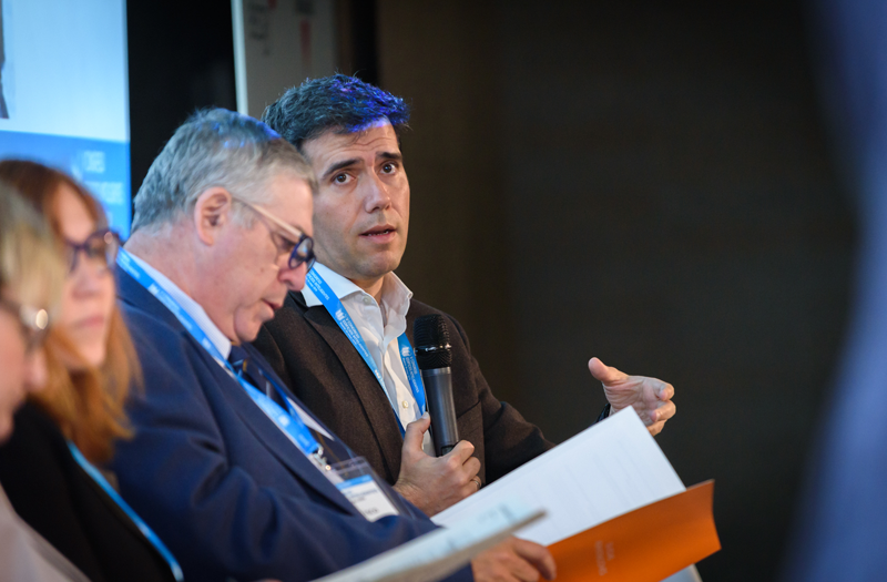 Francisco Gil, de Administrapolis; y César Frías, de MORPH Estudio.
