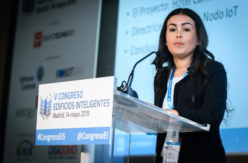Ponencia de Olivia Florencias, profesora en la Universidad de Cádiz.