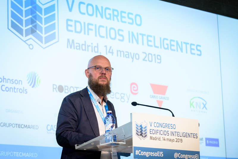 Stefan Junestrand, director del Congreso Edificios Inteligentes.