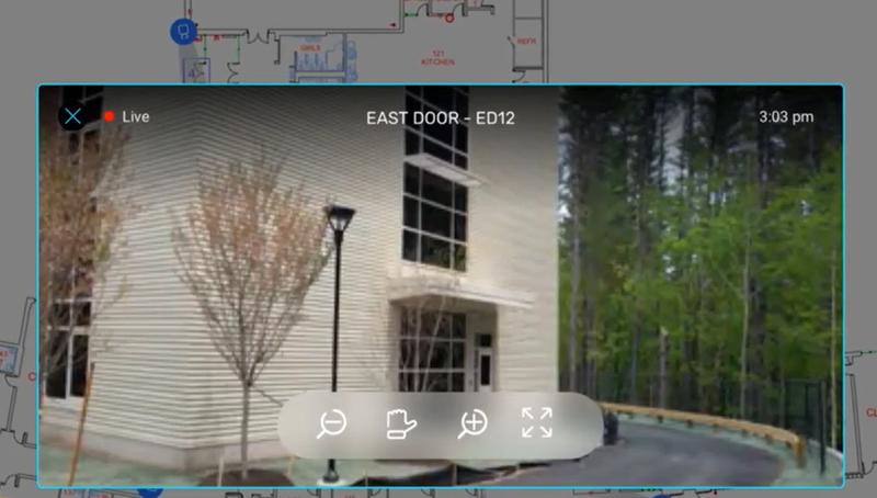 Un pantallazo de una de las imágenes de las cámaras de seguridad.
