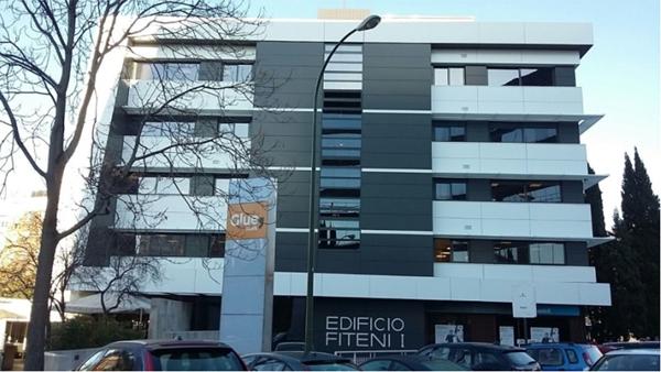 Figura 4. Edificio de Glueconcept en Madrid.