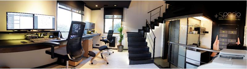 Figura 5. Control IoT en las oficinas de +Spacio.