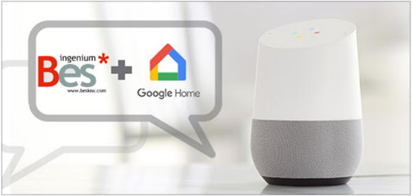 Figura 6. Google Home para el control de la vivienda.