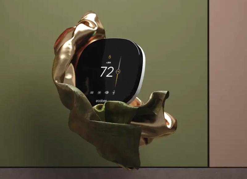 Termostato inteligente Ecobee.