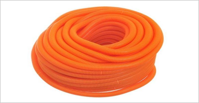 Rollos coarrugados para cables.