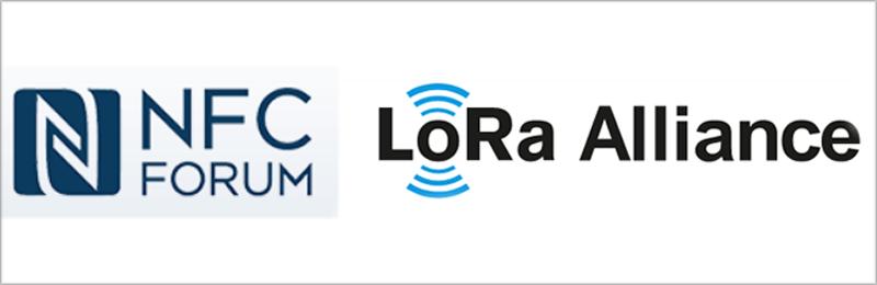 Logos de Forum NFC y Alianza LoRa.
