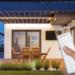 La solución NicePatio permite la gestión de las pérgolas y la iluminación de forma remota
