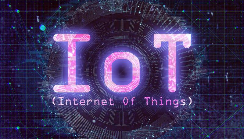 Imagen con la palabra IoT escrita.