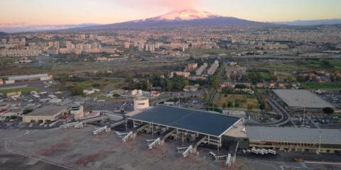El aeropuerto siciliano de Catania aúna la seguridad y la eficiencia energética a través de la transformación digital de sus sistemas