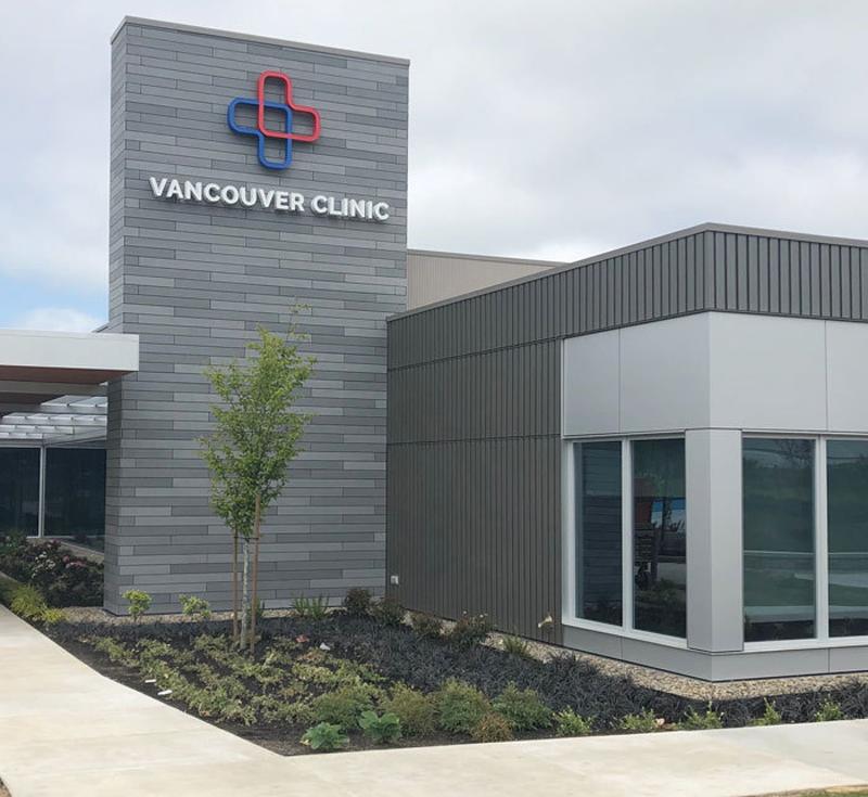 Fachada de la Clínica Vancouver.