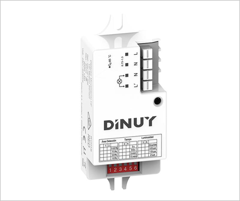 Detector de movimiento DM HF1 000 de Dinuy.