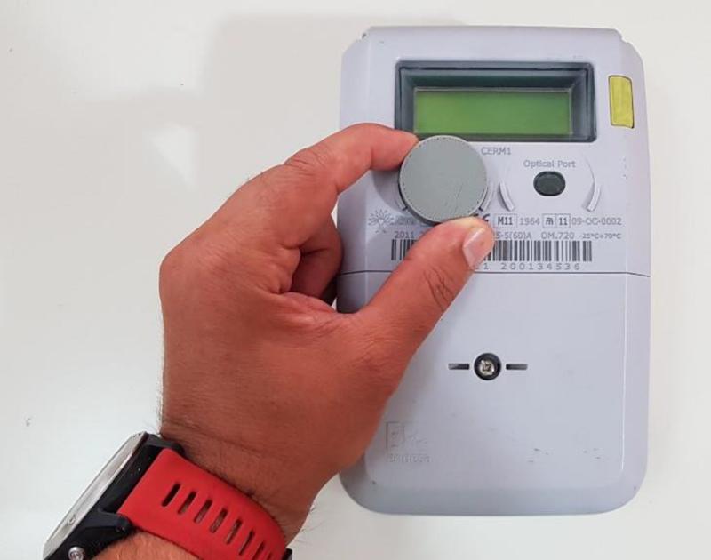 Figura 2. Ejemplo instalación Energy Button.