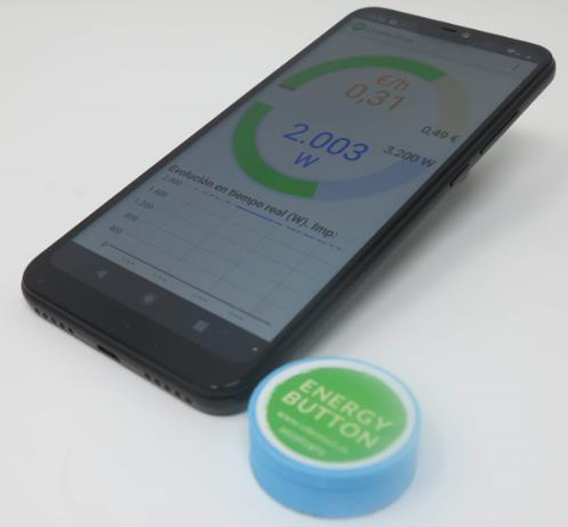 Figura 3. App Energy Button.