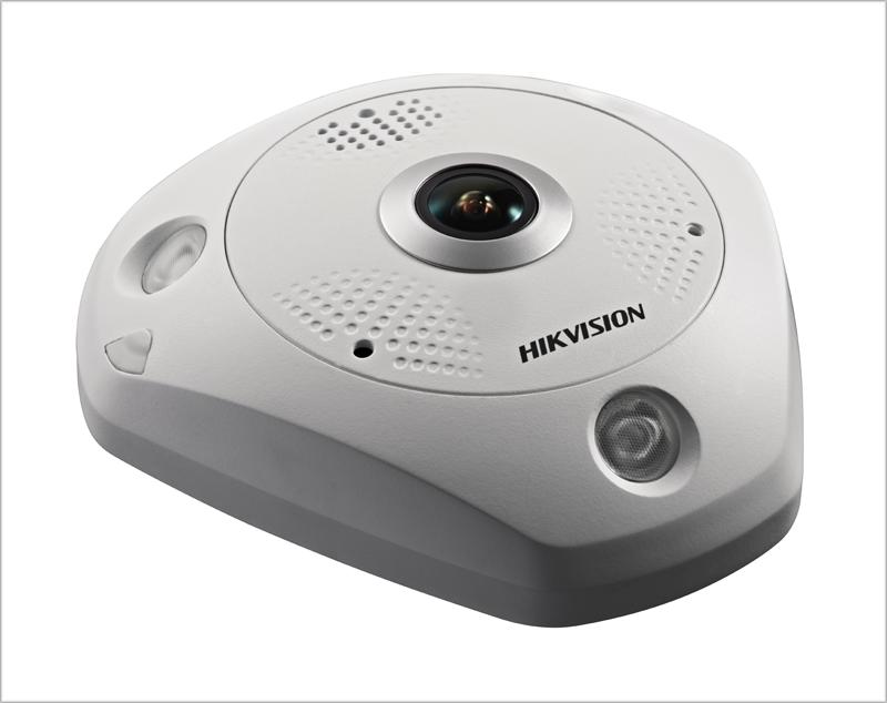 Cámara IP Fisheye de Hikvision.