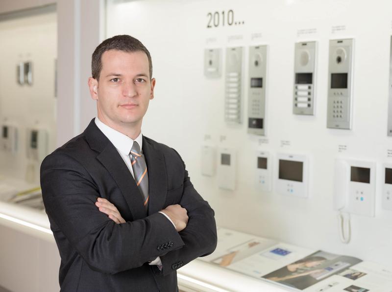 Jeremy Palacio, Director General de Fermax.