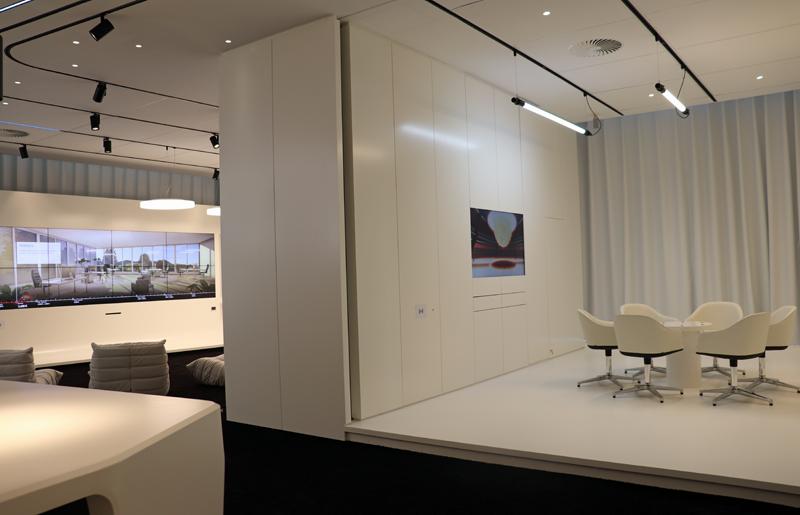 Sala de exposiciones de Trilux Light Campus