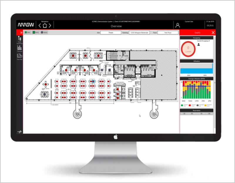 Pantallazo de la solución IoT Smart Buildings.