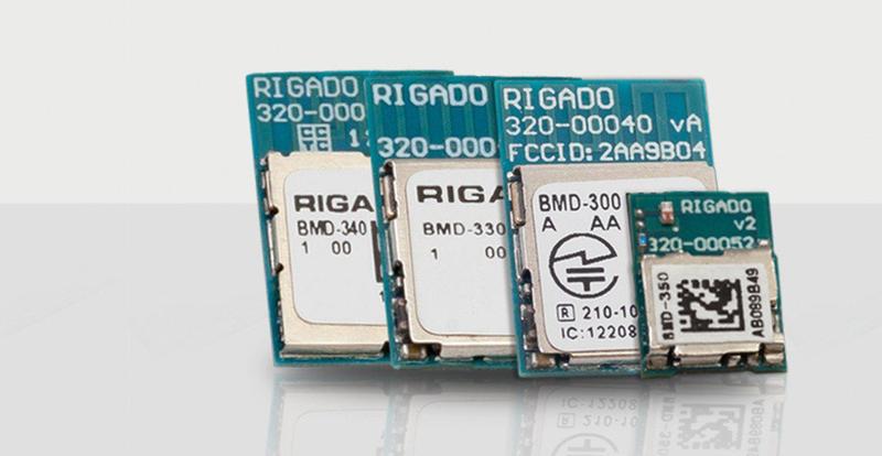 Módulos Bluetooth de Rigado.