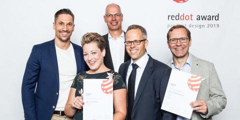 El mecanismo ABB-tacteo KNX es galardonado en los Premios Red Dot por mejor diseño