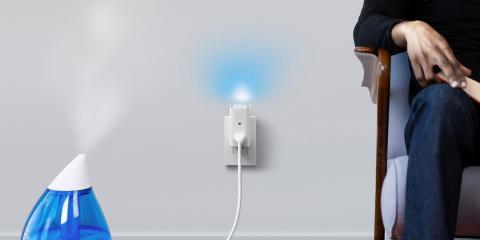Glow C, el dispositivo con enchufe inteligente que monitoriza la calidad del aire de los hogares