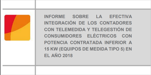 Los contadores inteligentes integrados en el sistema de telegestión superan el 98% en 2018