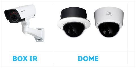 La cámaras de seguridad de la serie 5000 disponen de un nuevo codificador para reducir el ancho de banda