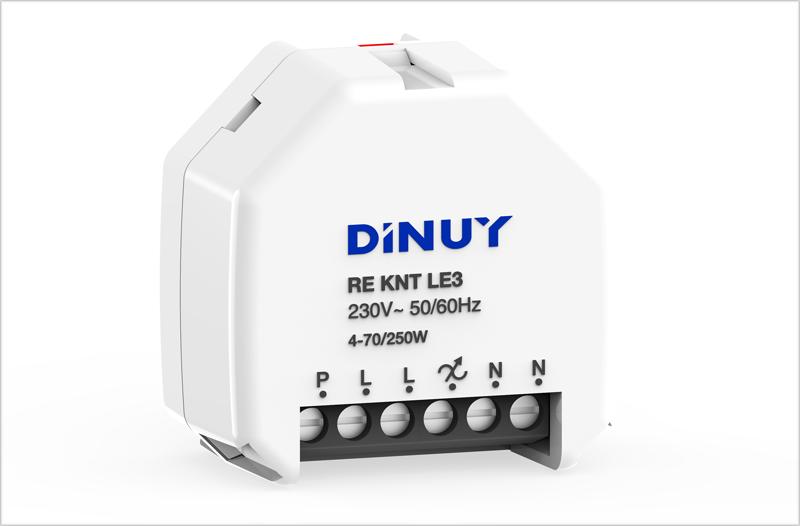 Actuador de regulación KNX de Dinuy.
