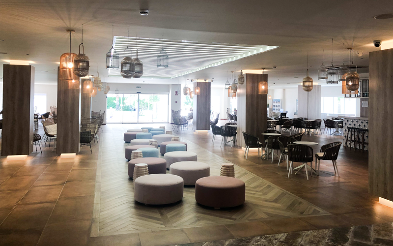 Interior del Hotel SMY Costa del Sol.
