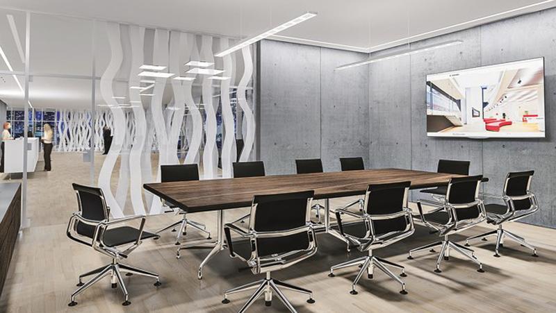 Interior de una oficina.