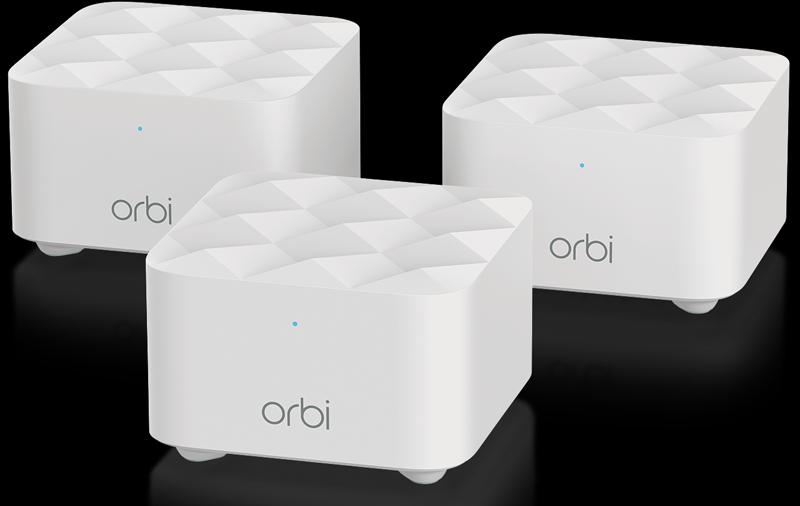 Wi-Fi Orbi Dual Band Mesh de Netgear.