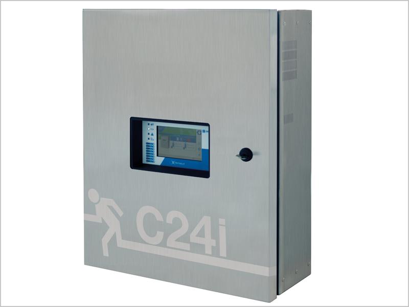 Centrales de baterías inteligente C24i de Normalux.