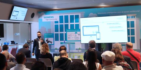 'Transformando la vivienda en un hogar inteligente', la propuesta de Siemens para el parque inmobiliario existente