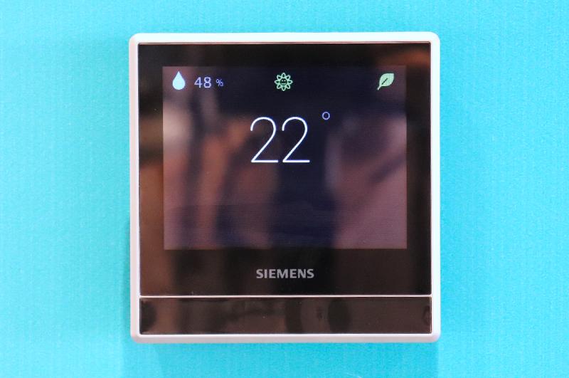 Termostato inteligente de Siemens.