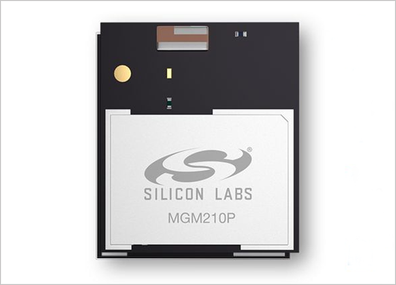 Uno de los módulos de la gama Gecko de Silicon Labs.