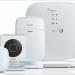 Un completo sistema de seguridad para el hogar compuesto por sensores, alarma y cámara de vigilancia