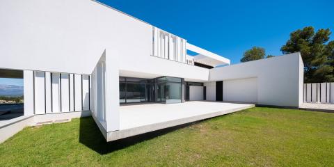 La Casa Simpática combina la última tecnología en automatización con un diseño arquitectónico novedoso