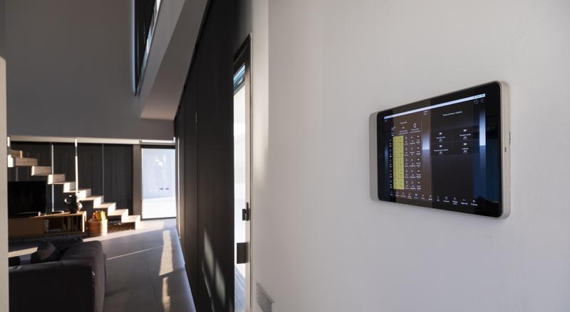 Interior de la vivienda.