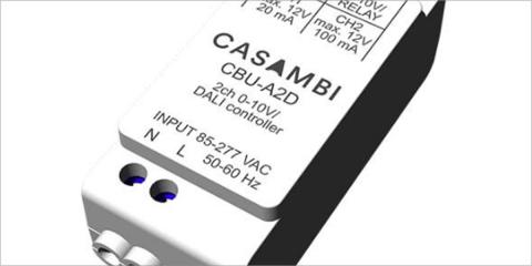 Olfer distribuirá en España y Portugal el nuevo dispositivo de control de la iluminación LED de Casambi