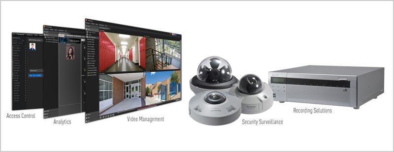 Gama de soluciones Panasonic i-Pro Sensing Solutions.